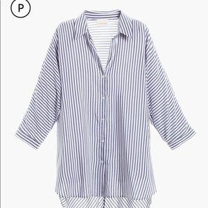 Chico's Essential Strip Shirt